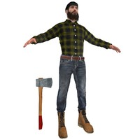 max canadian lumberjack man