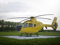 3dsmax eurocopter ec-135