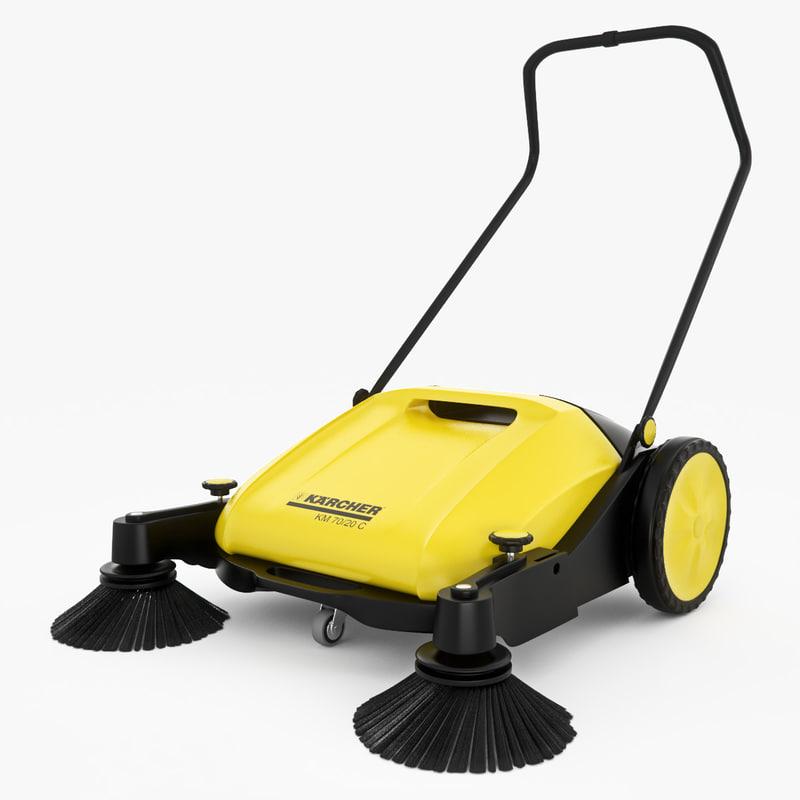 3d model sweeper karcher