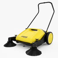 sweeper karcher 3d max