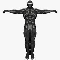 Sci-Fi Suit Male