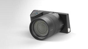 3d model lytro illum digital camera