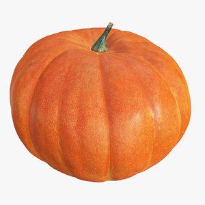 dae hd scaned pumpkin polys