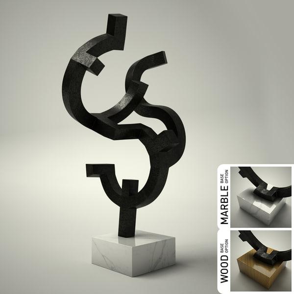 sculpture 04 3d 3ds