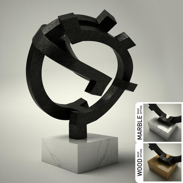 3d model sculpture 06
