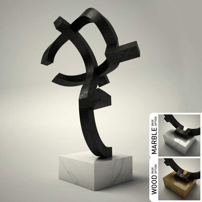 3ds sculpture 16