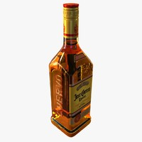 3d jose cuervo tequila bottle