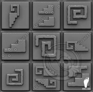 Aztec Alpha Symbols