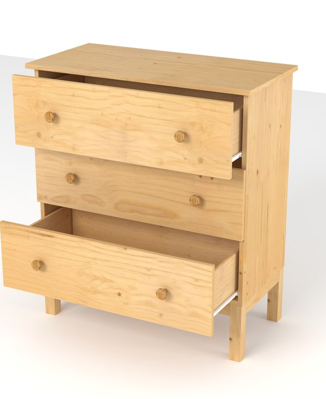 3d tarva series drawers ikea