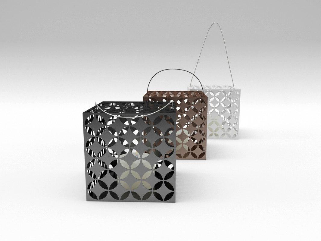 touareg candle box 3d model