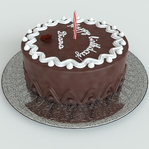 chocolate birthday cake max
