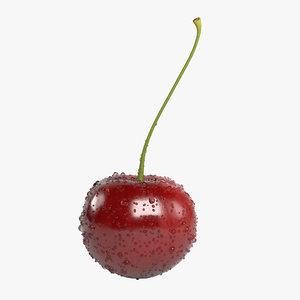 cherry drops realistic 3d max