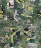 Aerial Fields Texture