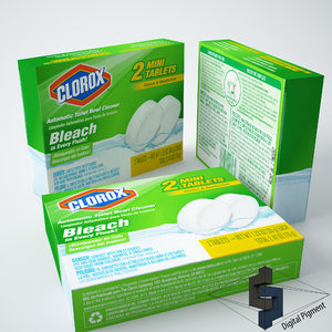 clorox toilet bowl cleaner 3d max