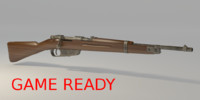 Mannlicher Carcano 1938 Game Ready