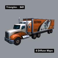 obj truck unity