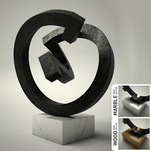 3d model sculpture 20