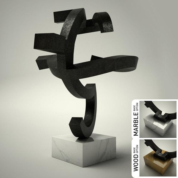 3d model sculpture 21
