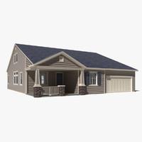 3d house home model