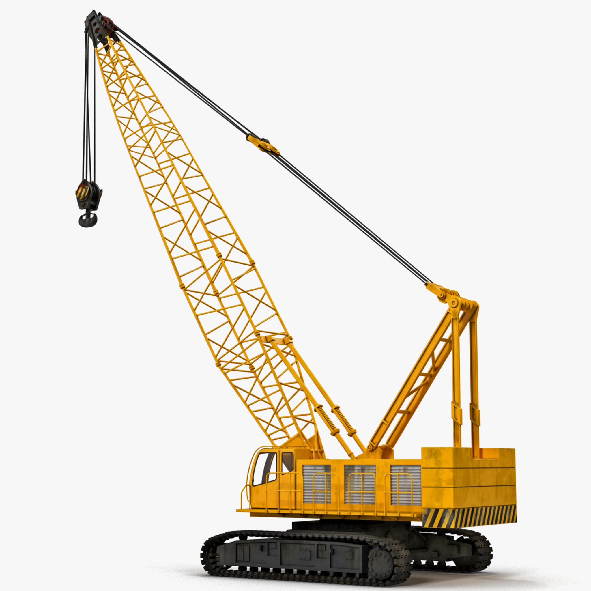 3d crawler crane for The crain