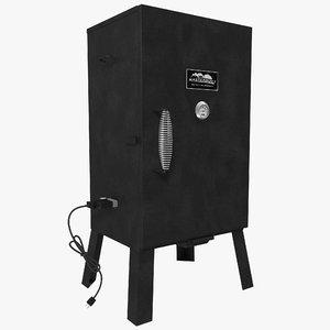 electric analog smoker masterbuilt 3d 3ds