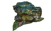 d obj stone boulders ned