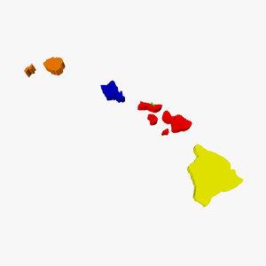 3d counties hawaii