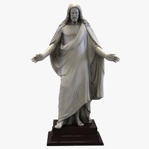 max jesus statue