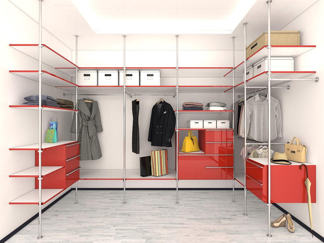 3d wardrobe clothes