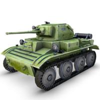 3d obj a17 light tank mk