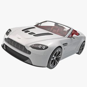 aston martin vantage 2014 3d model