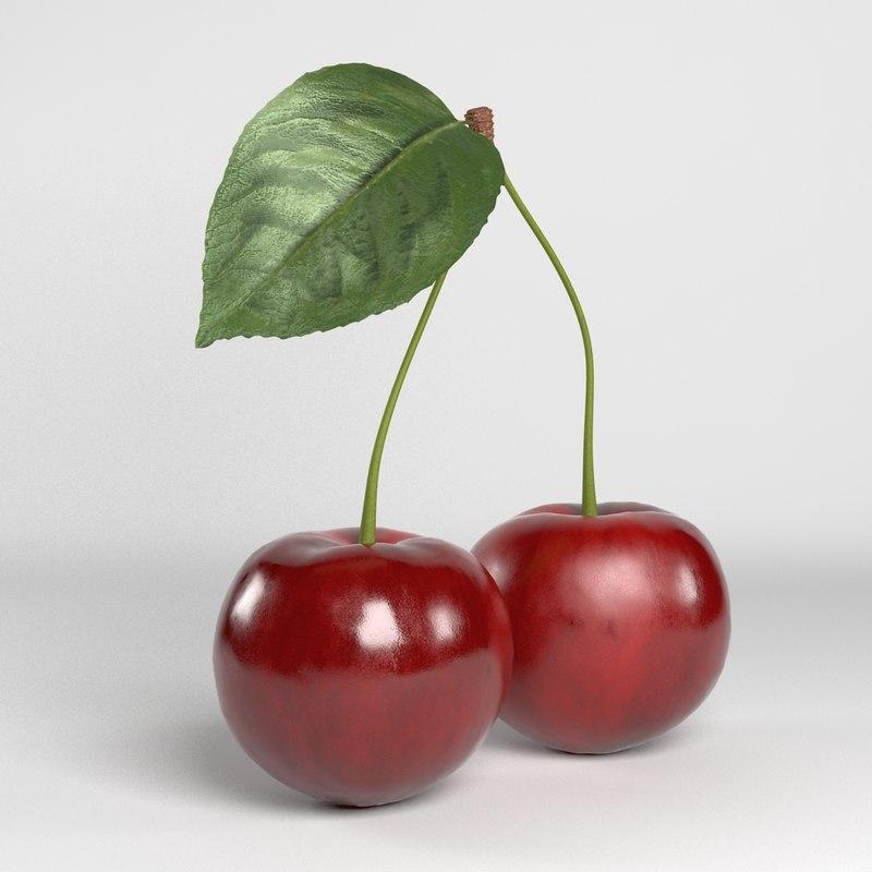 cherries realistic