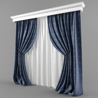 Curtains and blinds in a modern style