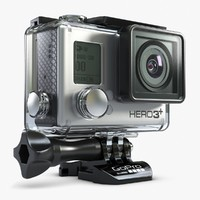 Action Camera GoPro 3 Plus In Case