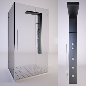 shower samo zenith 3d max