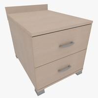 3d model of furniture home