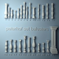 peterhof set balustrades