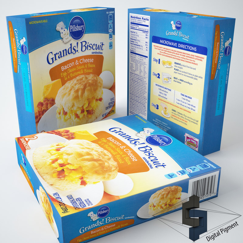 3ds grands biscuit sandwiches bacon