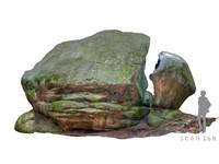 boulders stone 3d model