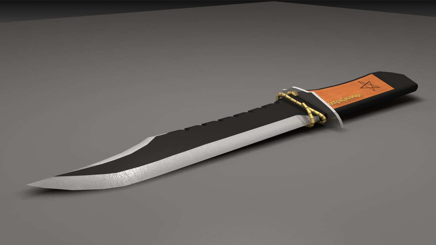 blade weapon 3d max
