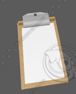 free c4d model simple clipboard