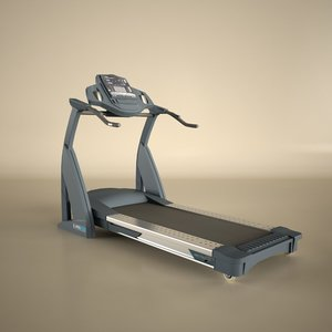 reebok treadmill 3d model