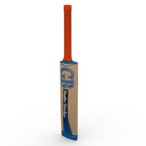 3dsmax ready cricket bat