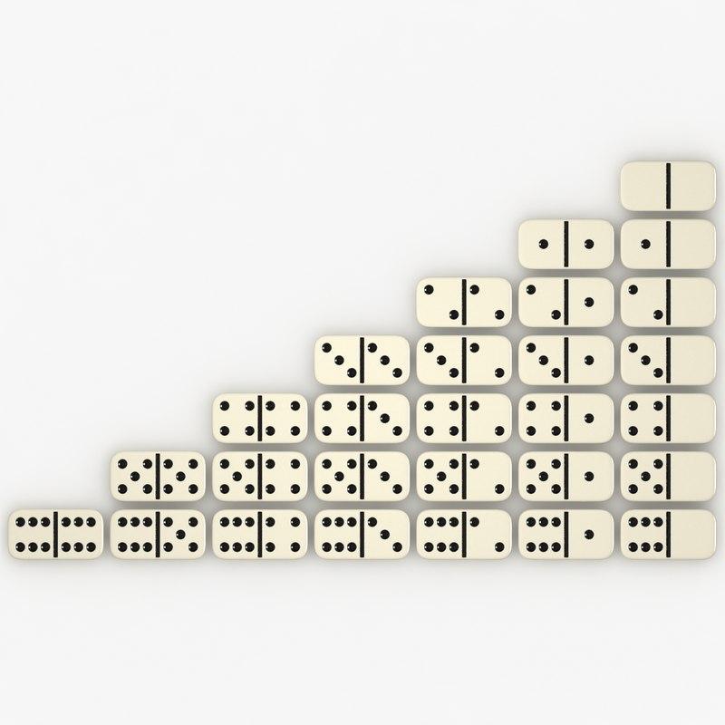 realistic dominoes max