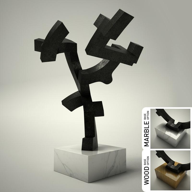 3d dxf sculpture 25