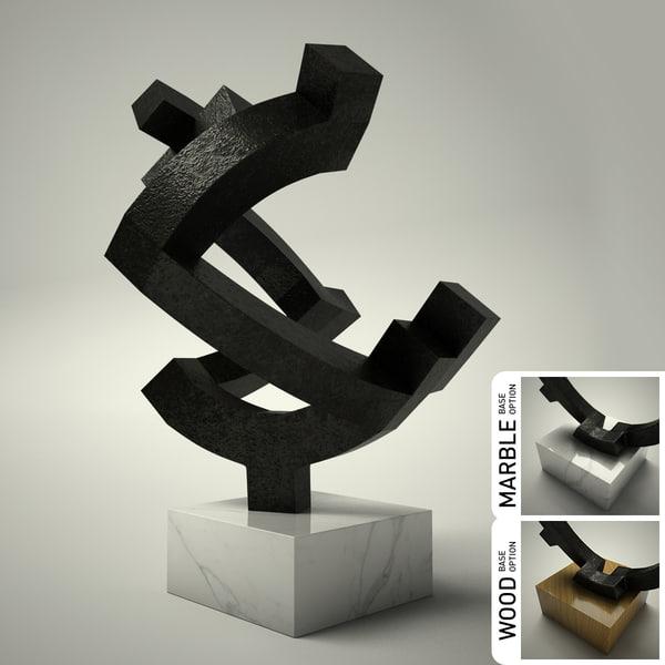 3d model of sculpture 26