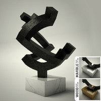 3d model of sculpture 26