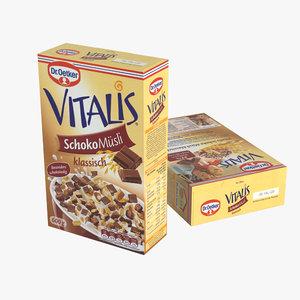 max cereal box