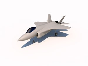 3d model lockheed f-35 lightning