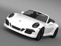 porsche 911 carrera 4 3d max